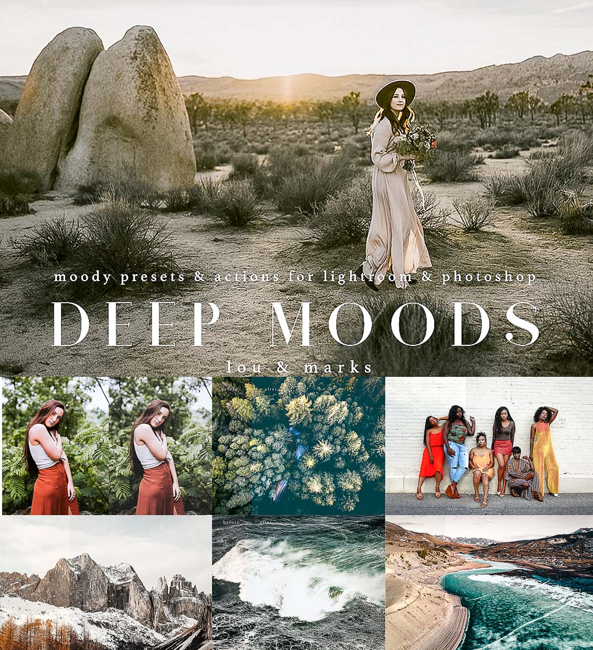 Deep moods presets and actions