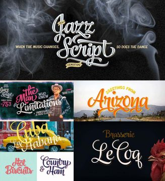 Jazz font family
