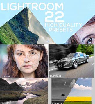 Pro lightroom presets set