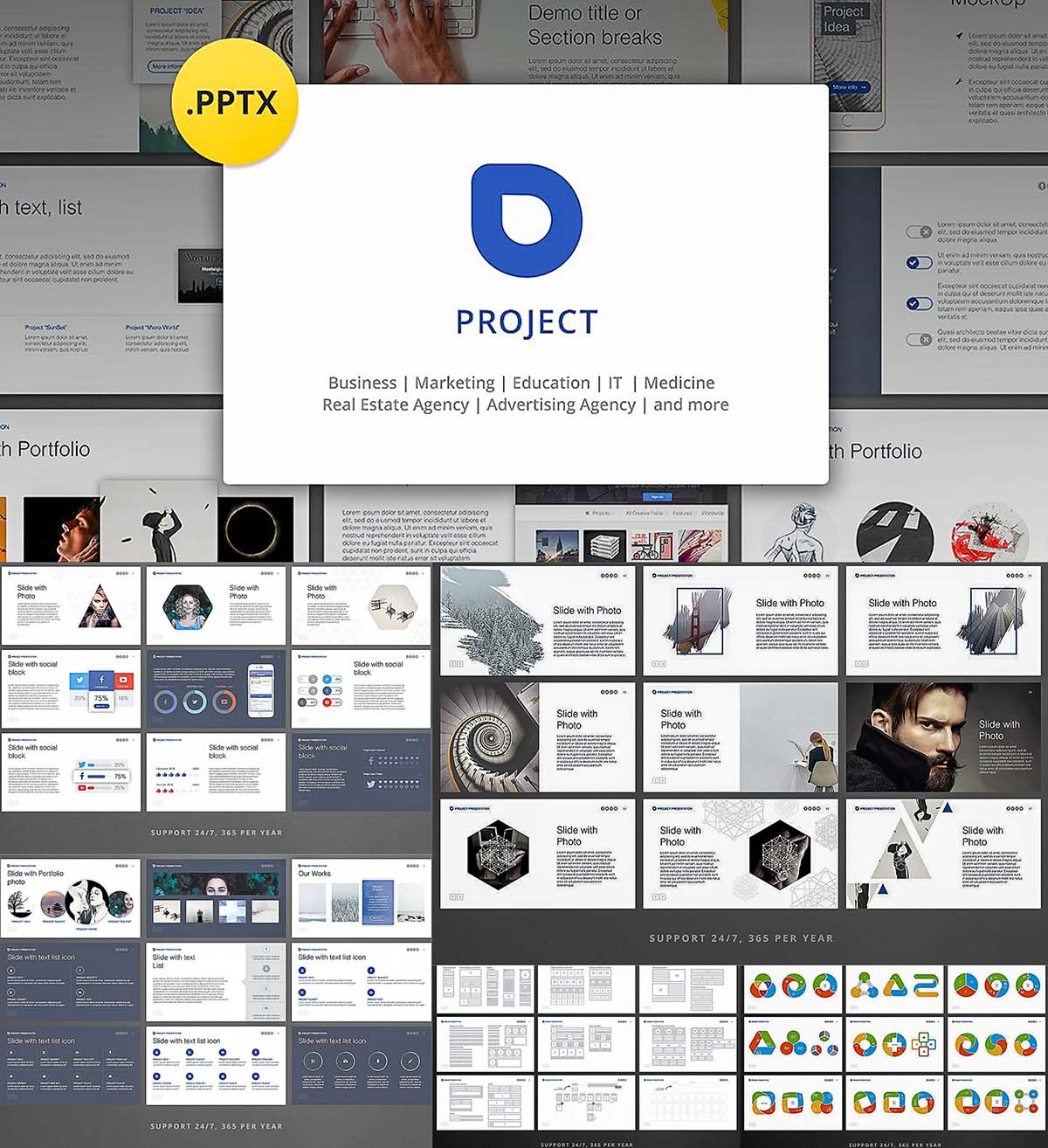 Project professional powerpoint presentation free download project professional powerpoint presentation toneelgroepblik Image collections