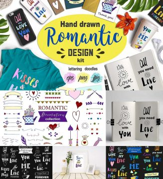 Romantic designers kit