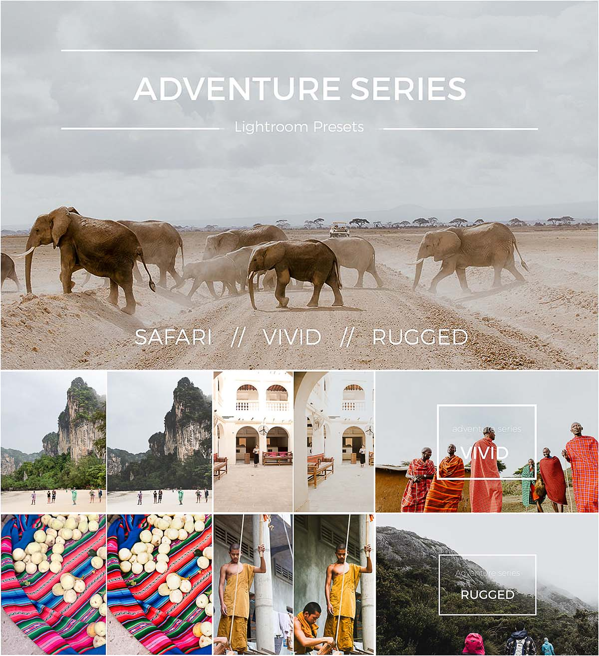 Advanture lightroom preset bundle