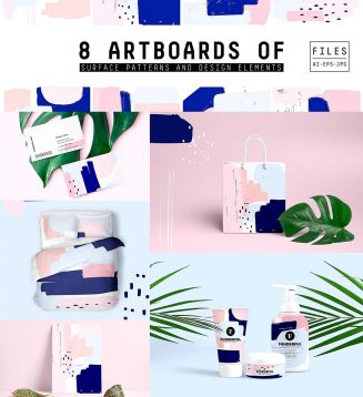 Color artboards set