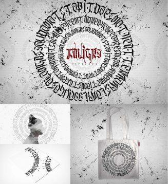 Kaligry typeface