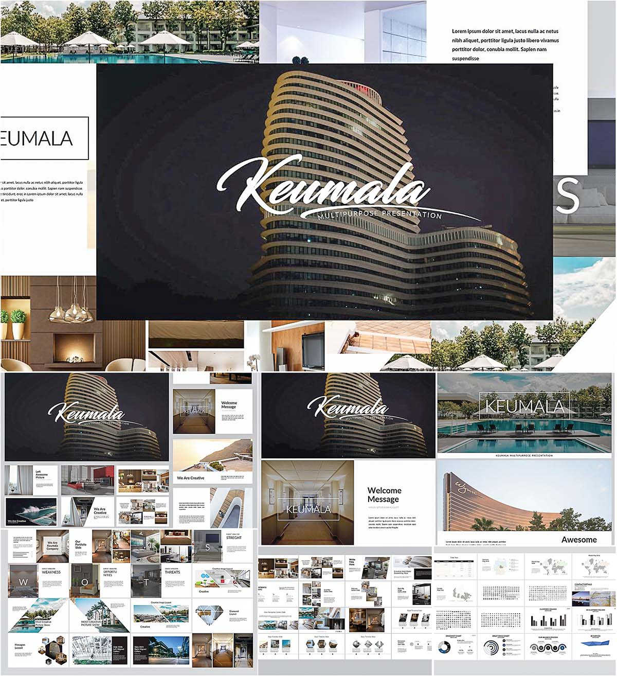 Keumala keynote template