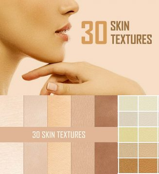 30 skin brushes textures