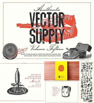 Vintage Vector Supply Volume 15