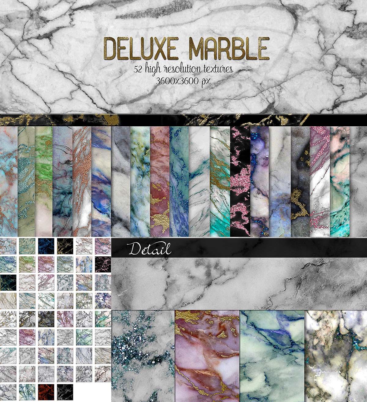 Deluxe marble textures