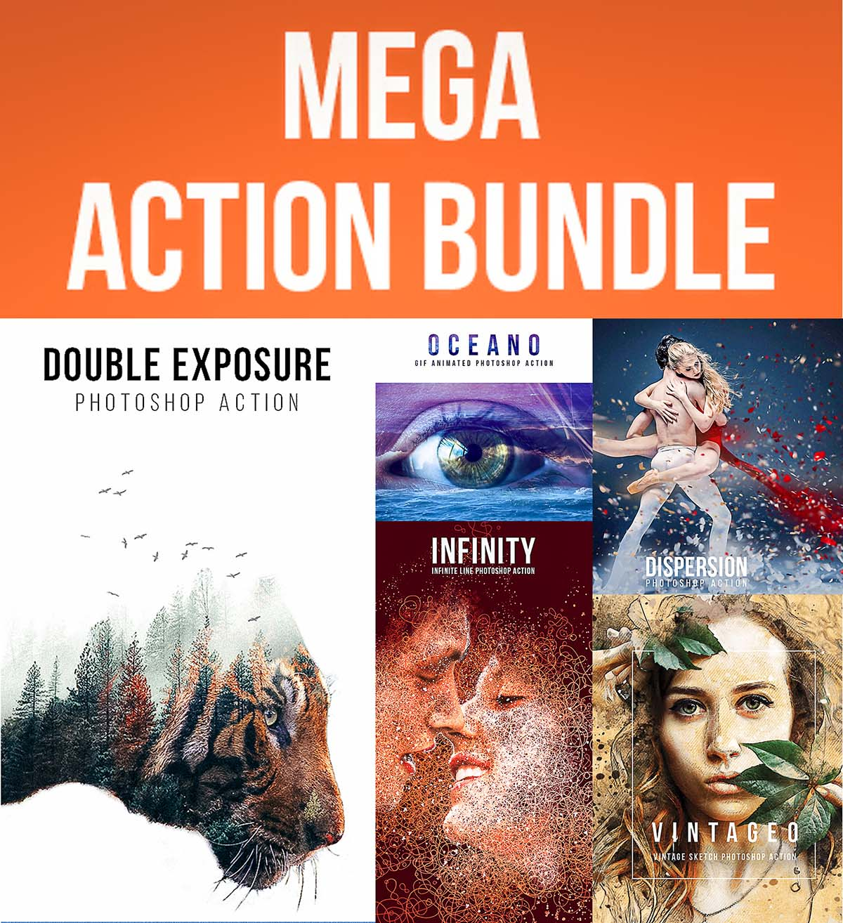 Mega action collection