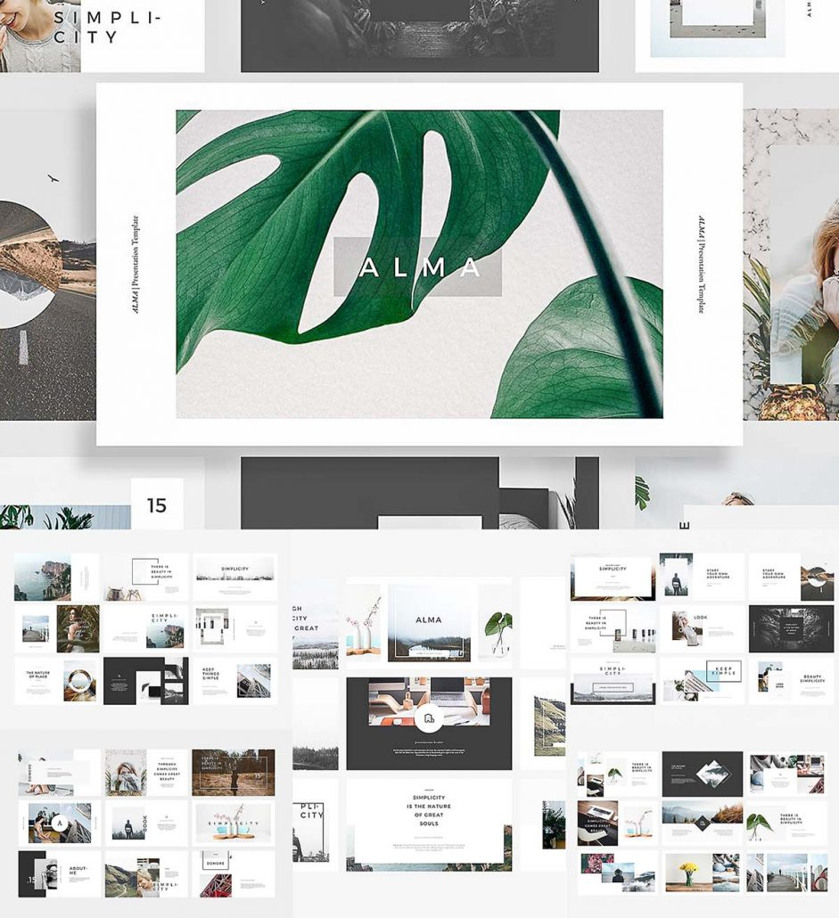 ALMA PowerPoint Template