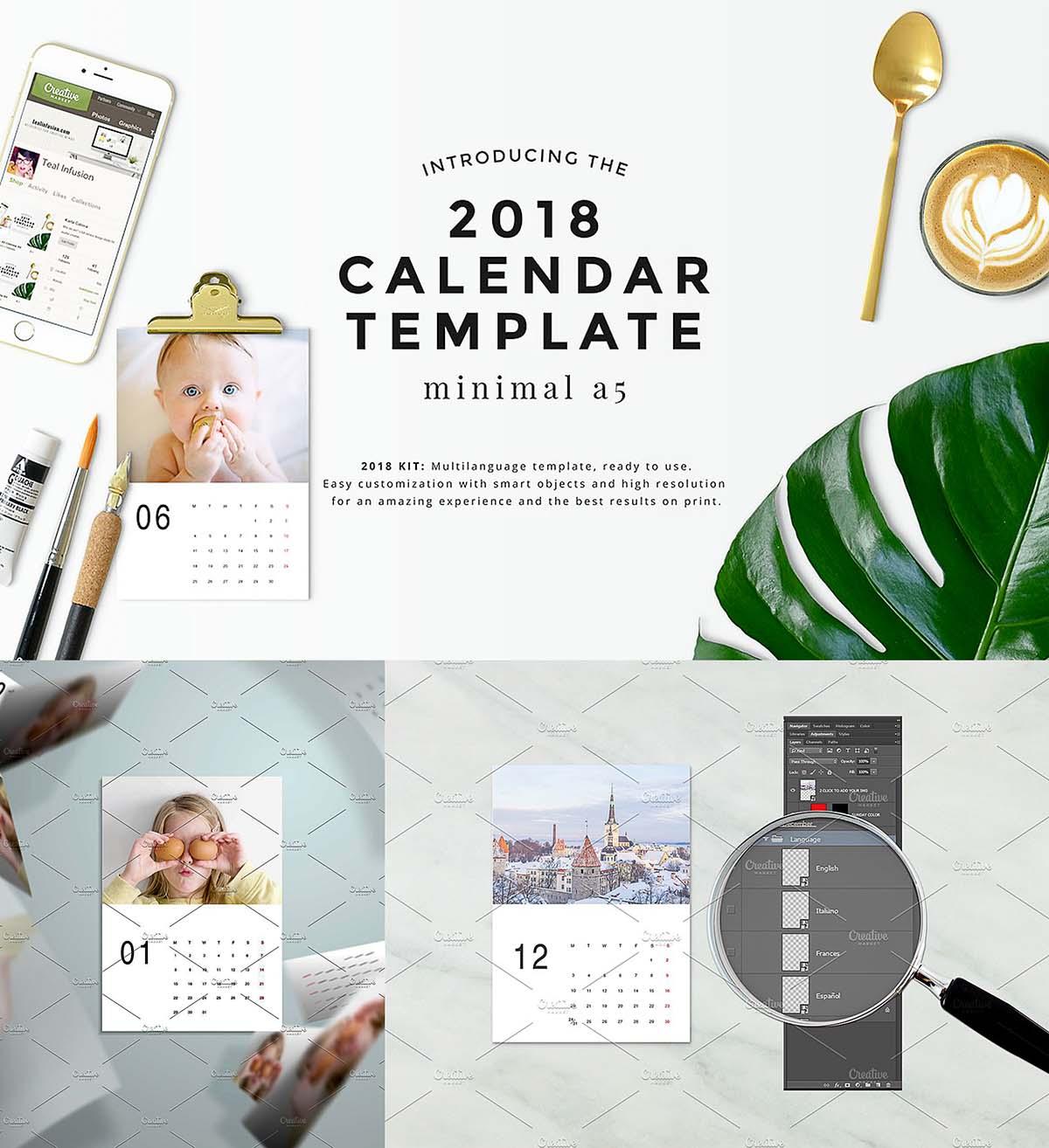Calendar Templates Graphic Design : Templates free download cgispread part
