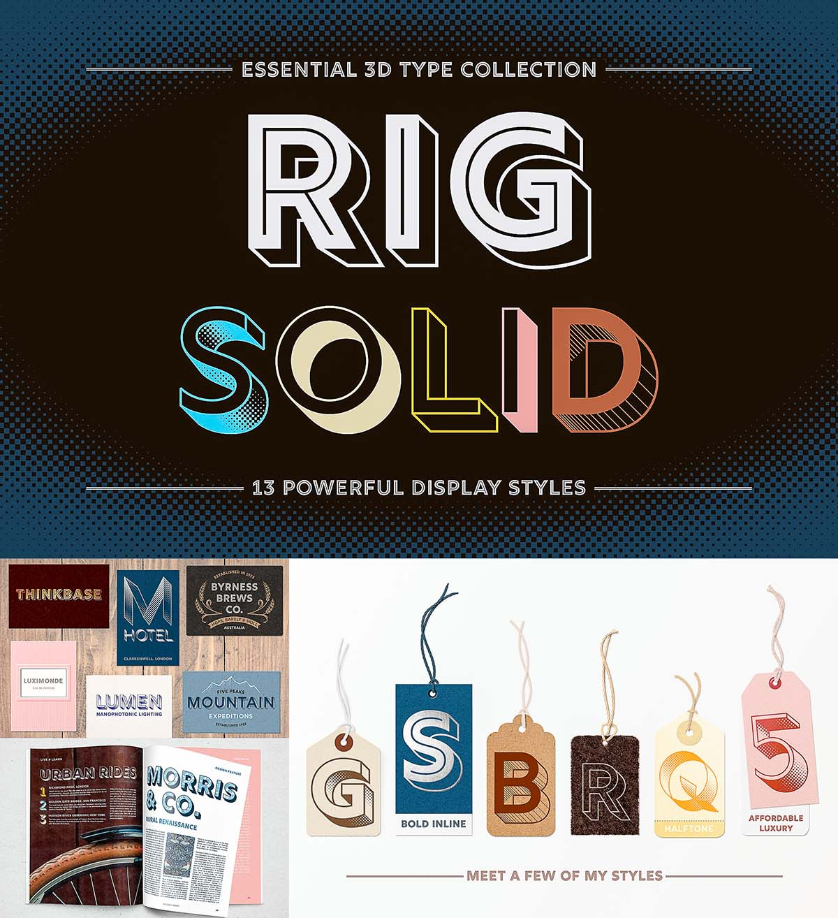 Rig Solid Font Styles