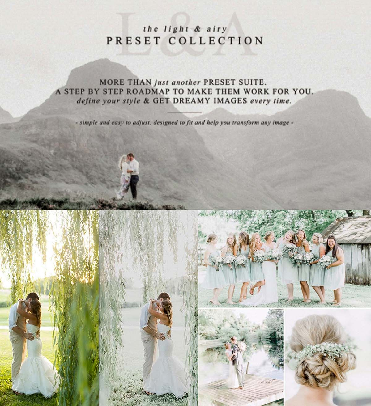 The Light Airy Lightroom Preset Collection | Free download