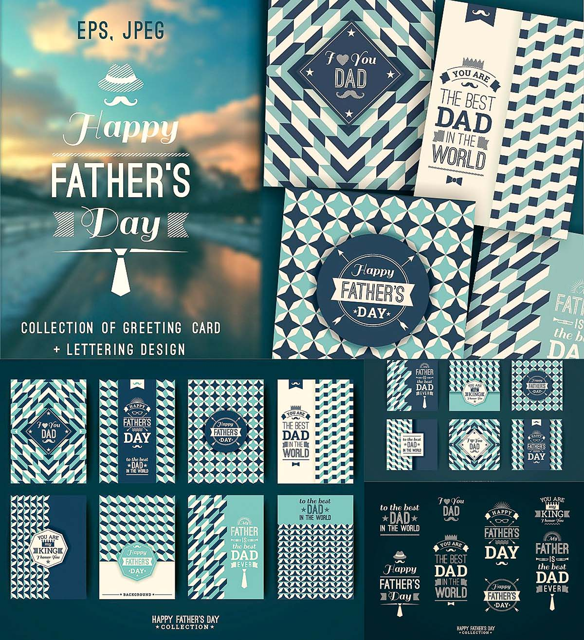 12 Greeting Cards For Fathers Day Free Download