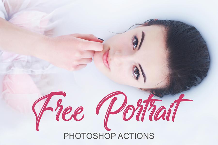 FREE PHOTOSHOP ACTIONS FOR PORTRAITS | Free download
