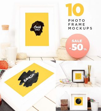 Frame Mockup Photo Set