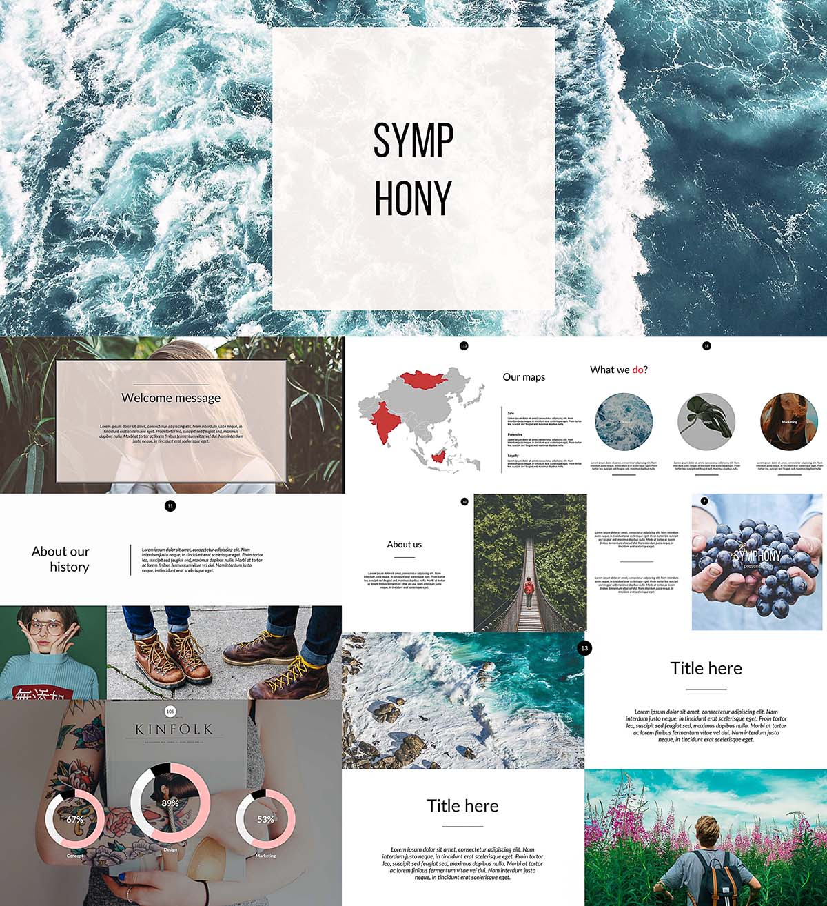 Symphony powerpoint templates free download symphony powerpoint templates toneelgroepblik Images