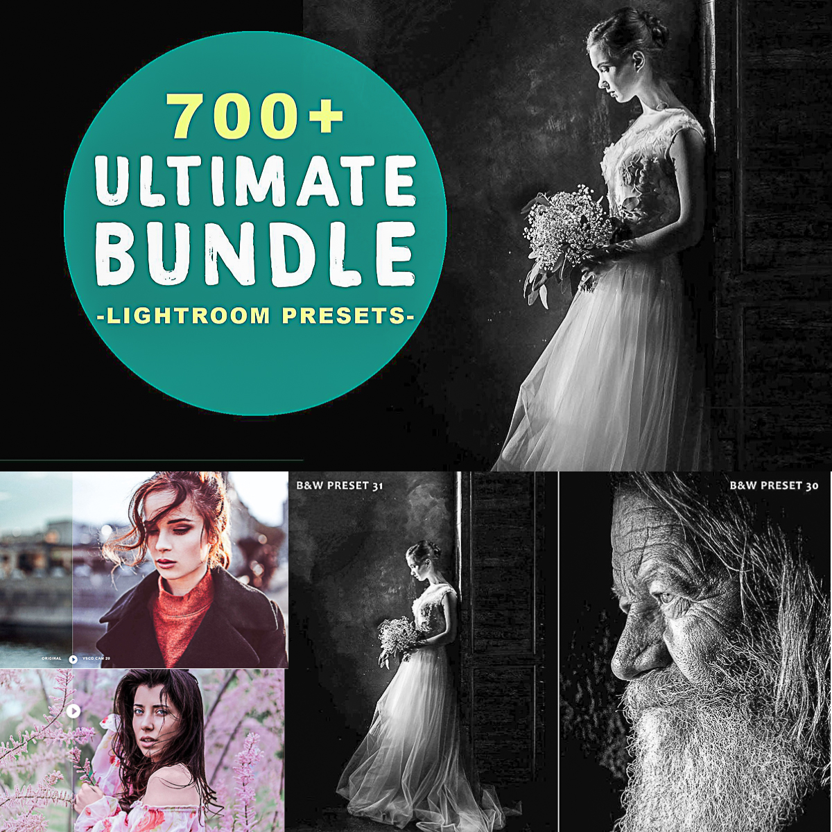 700 Ultimate Lightroom Presets Bundle | Free download