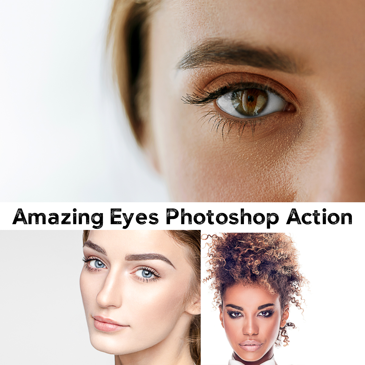 Amazing Eyes Photoshop Action | Free download