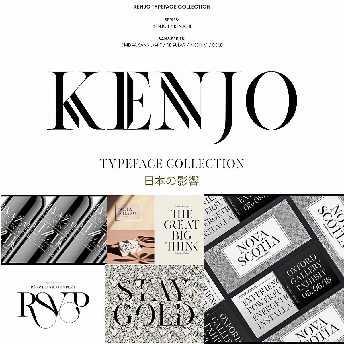 Kenjo Fonts | Free download