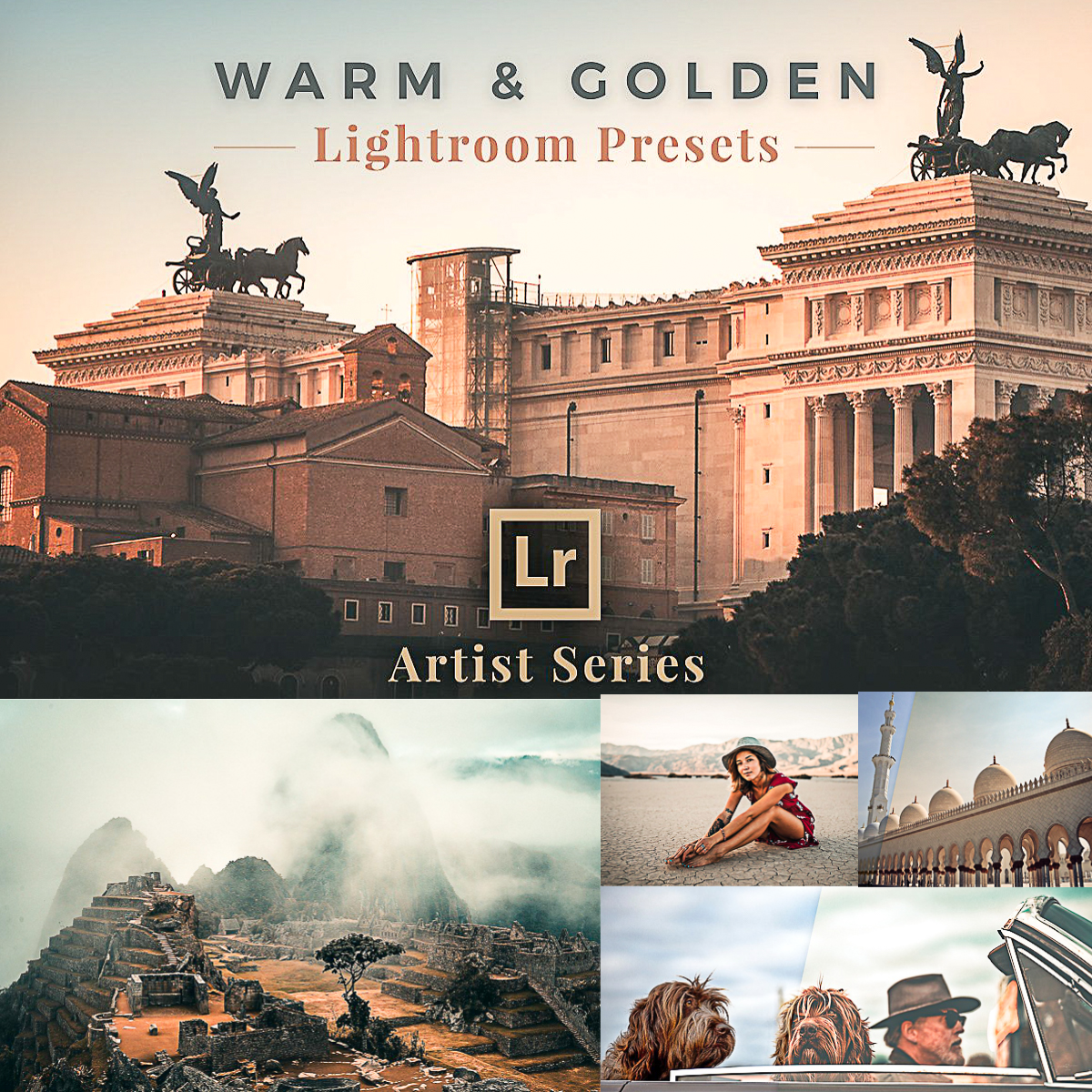 Warm and Golden Lightroom Presets Collection | Free download