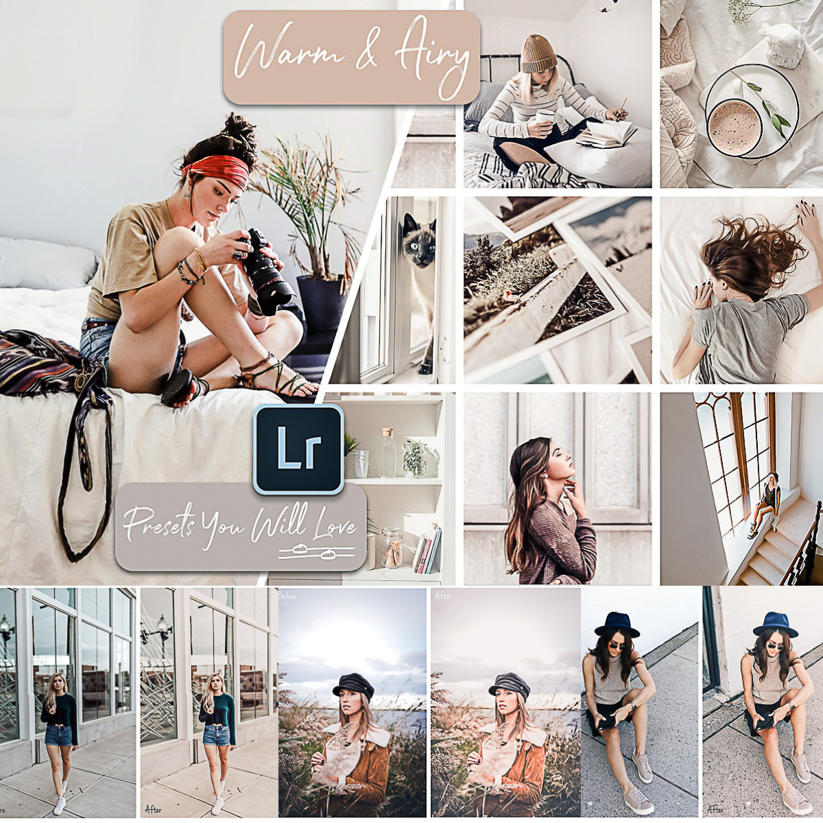 Warm Airy Lightroom Presets | Free download