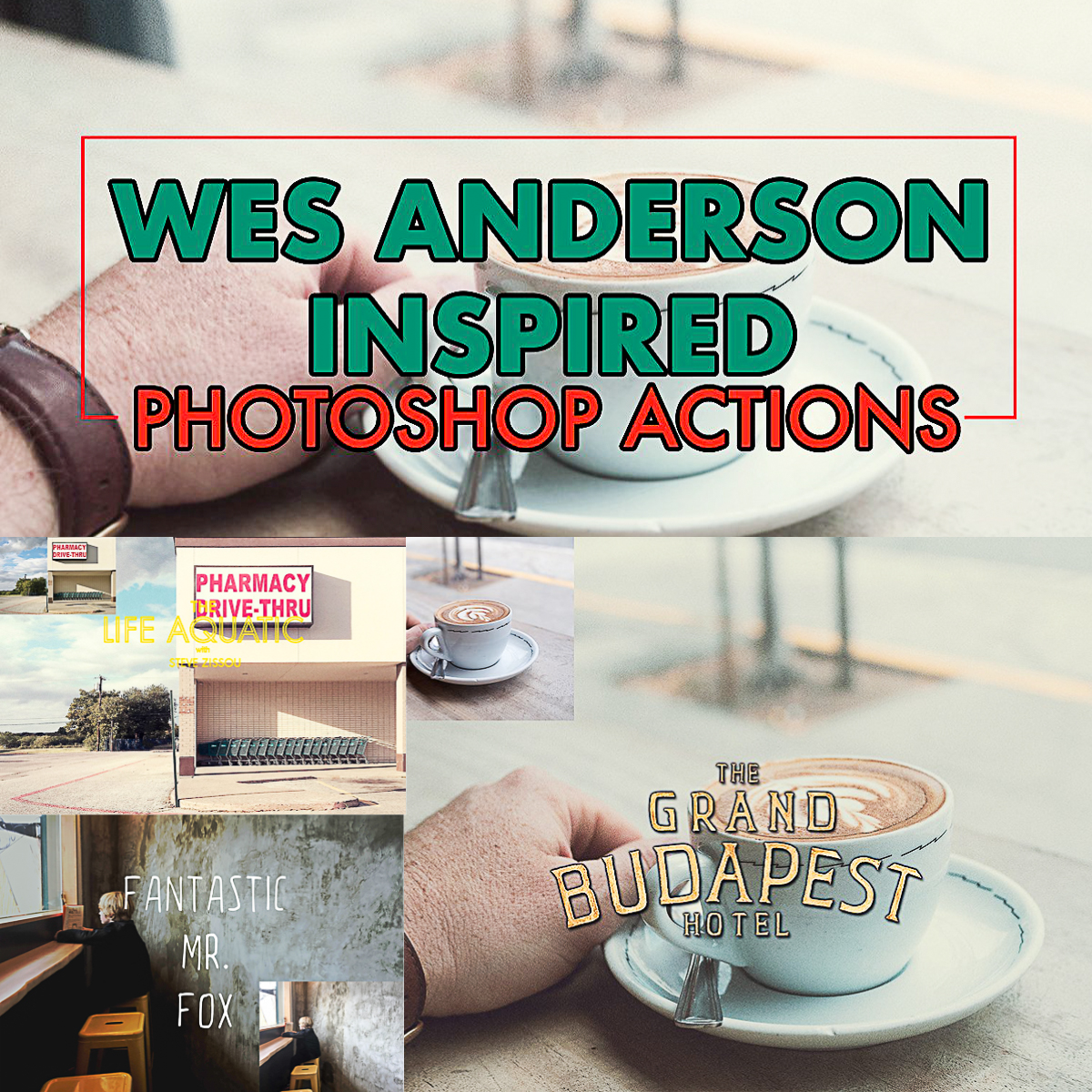 Wes Anderson Photoshop Actions | Free download