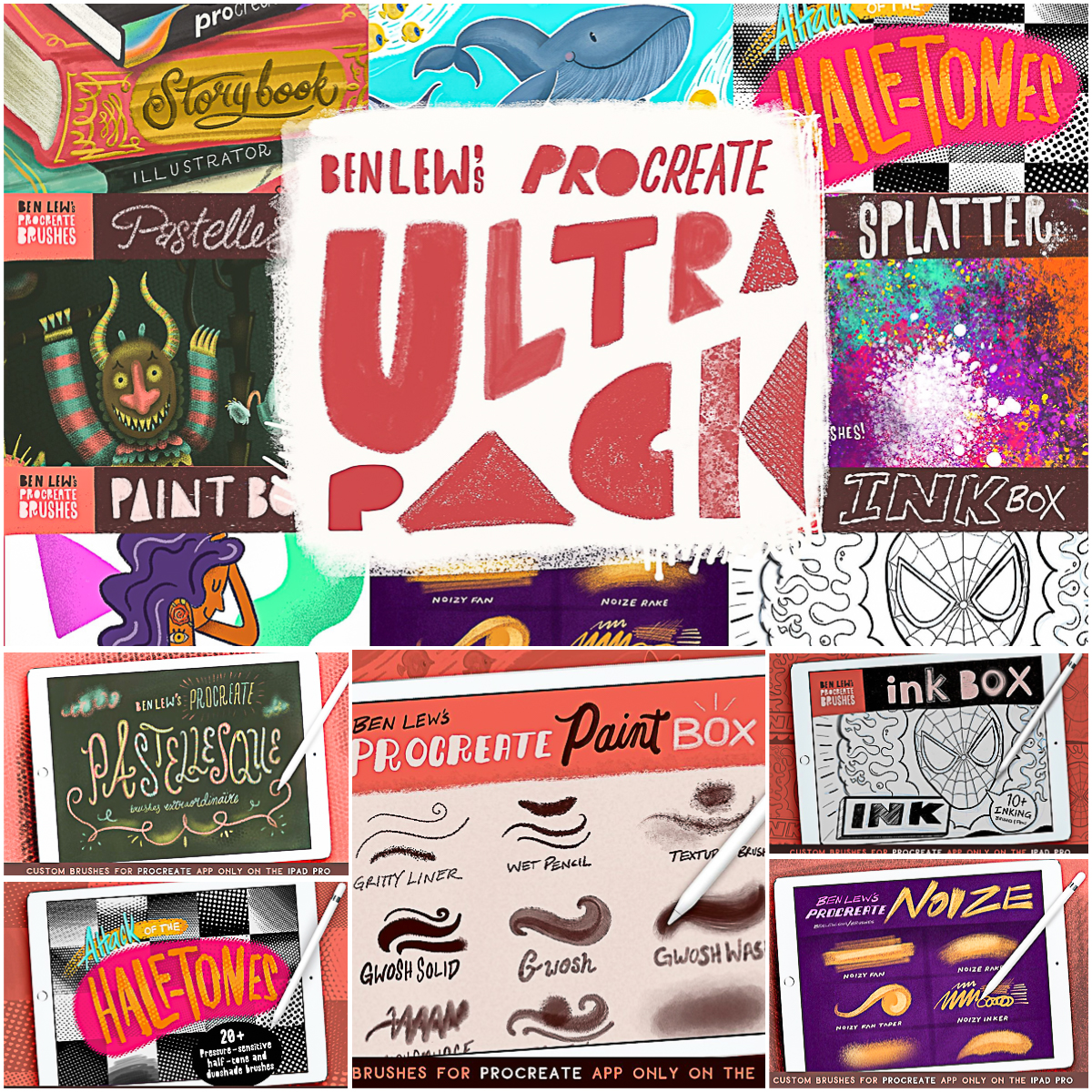 Ben Lew's Procreate UltraPack | Free download