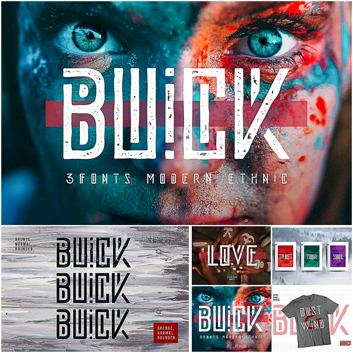 Buick Font | Free download