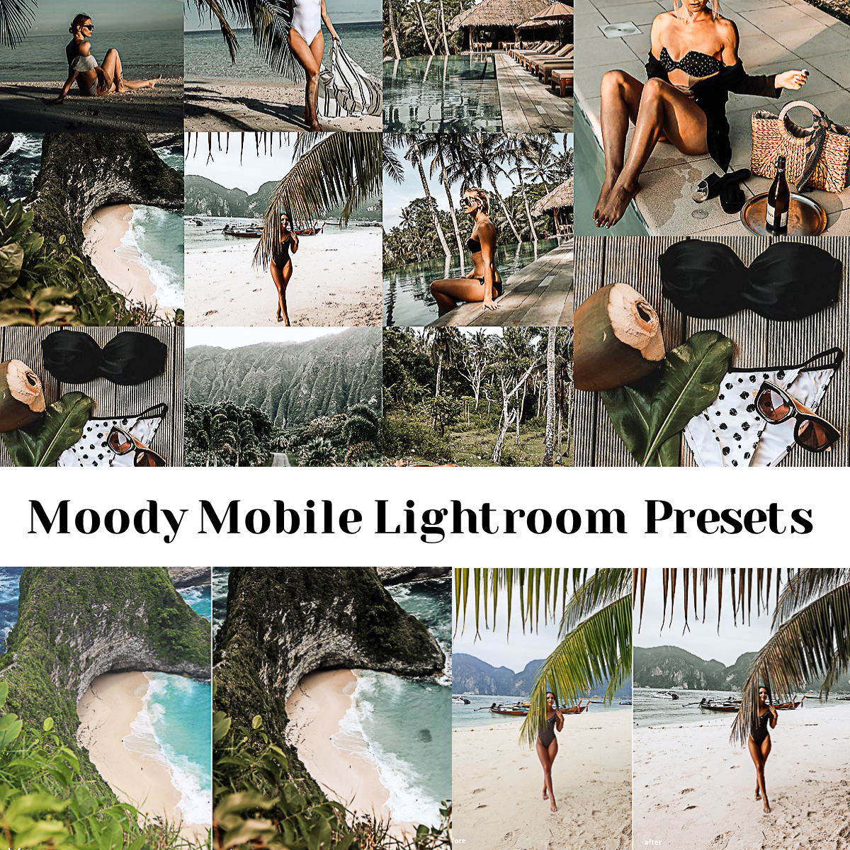Moody Mobile Lightroom Presets | Free download