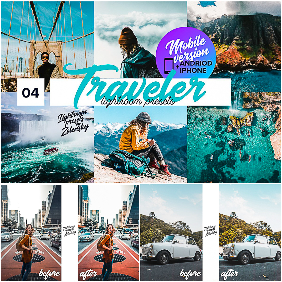 Traveler Mobile Lightroom Presets | Free download