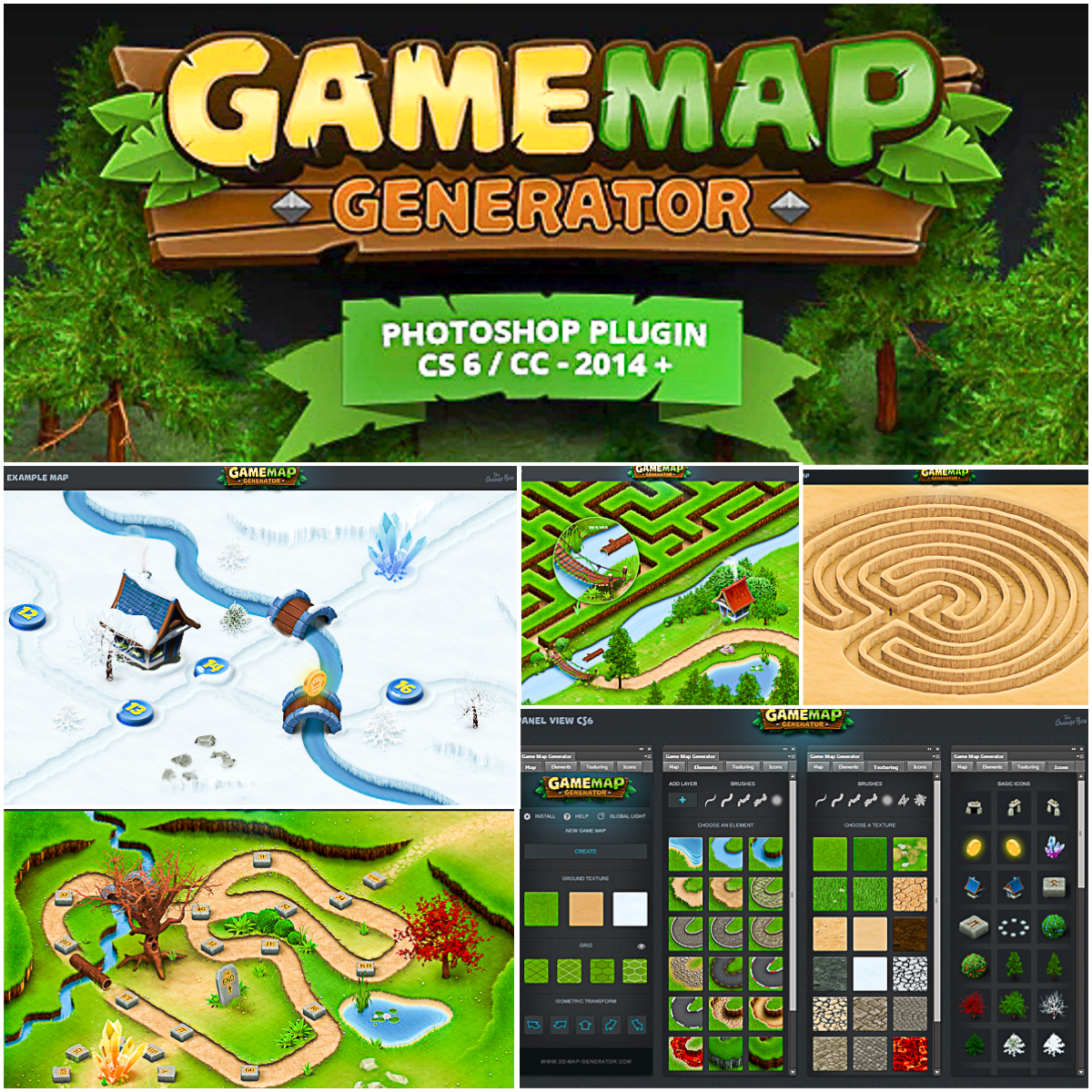Game Map Generator | Free download